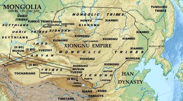 El Imperio Xiongnu y la Ciudad Dragón nómada perdida cerca de Luut (Khiruge / CC BY-SA 4.0)
