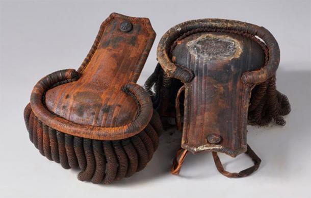 Charreteras del uniforme de un oficial sacadas de los restos del HMS Erebus. (Parques de Canadá)