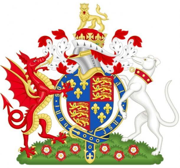 Escudo de armas del rey Enrique VII de Inglaterra. (Wereldburger758 / Dominio Público)