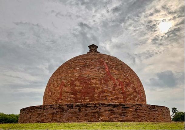 Estupa en el monasterio de Thotlakonda, India. (CC BY-SA 4.0)