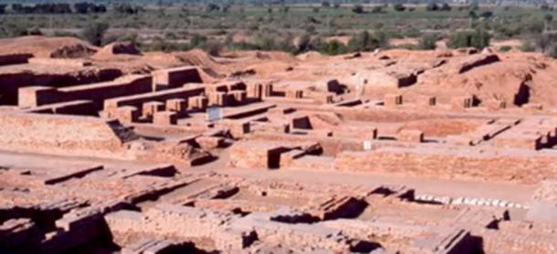 La evidencia sugiere que Rakhigarhi era un importante centro de la ciudad de Harappan. (Orígenes homéricos / YouTube)