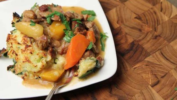 Ejemplo de estofado de cordero con verduras. (Jo del Corro / CC BY 2.0)