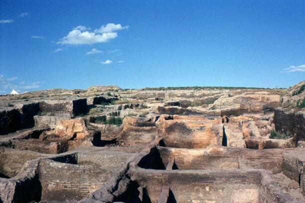 Çatalhöyük después de las primeras excavaciones de James Melaart y su equipo. (CC BY-SA 3.0)