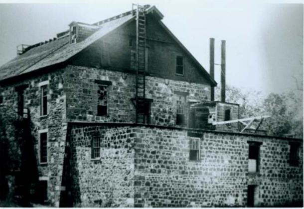 Forbes Mill, Los Gatos, California, circa 1900. (Dominio público)