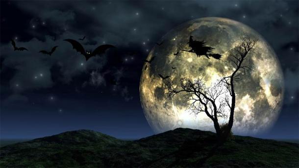 Una luna llena de Halloween. (Kirsty Pargeter / Adobe Stock)