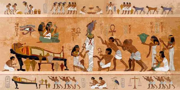 Si bien los ritos funerarios y las costumbres del antiguo Egipto pueden parecer extraños para algunos, el intrincado proceso de momificación era parte de la visión compleja de los antiguos egipcios en relación con la muerte y el más allá. (Matrioshka / Adobe Stock)