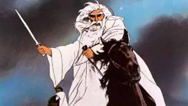 Gandalf en la película animada de 1978. (Uso legítimo)