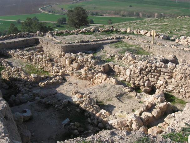 El sitio arqueológico de Gath en Israel donde se encontró el fragmento de Goliat. Este fragmento está fuertemente relacionado con los gigantes de Anakim. (Ori / Atribución)