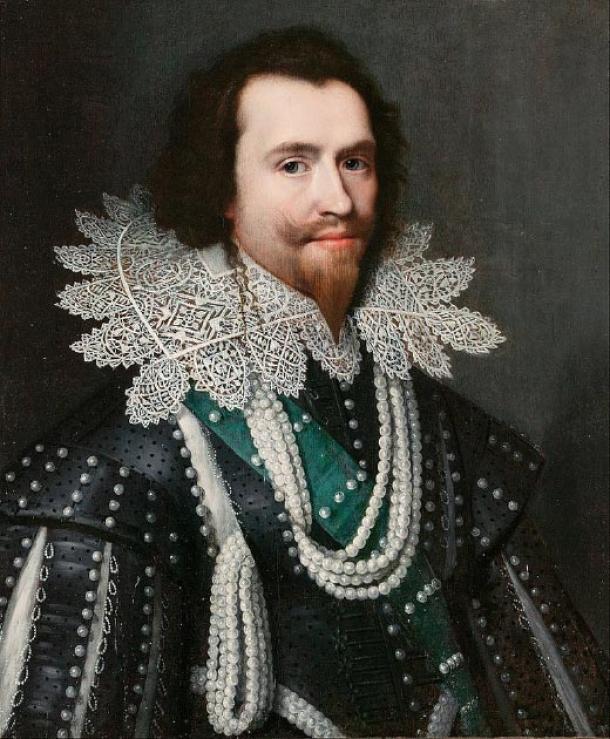 George Villiers, duque de Buckingham, pudo haber sido dueño de las botellas de vino. (DcoetzeeBot / Dominio público)