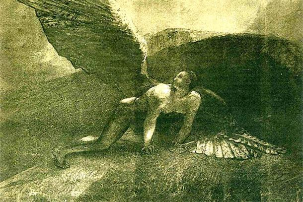 """El """"Libro de los Gigantes"""" cuenta la historia de los orígenes pre-diluvianos del mal y el destino de los Vigilantes y sus descendientes gigantes. (Chauvelin2000 / Dominio público)"""