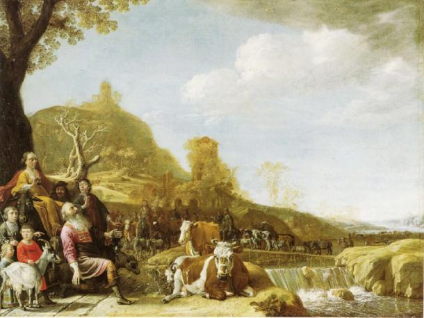 Dios apareciendo a Abraham en Sichem. (Paulus Potter / Dominio público)