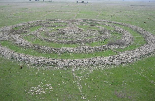 El sitio en los Altos del Golán de Israel que está fuertemente conectado con el legendario rey Anakim Og de Basán. (Usuario de Wikipedia en hebreo אסף.צ / CC BY-SA 3.0)