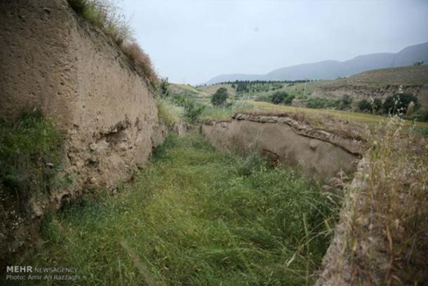 Gran Muralla de Gorgona. (Agencia de noticias MEHR / CC BY 4.0)