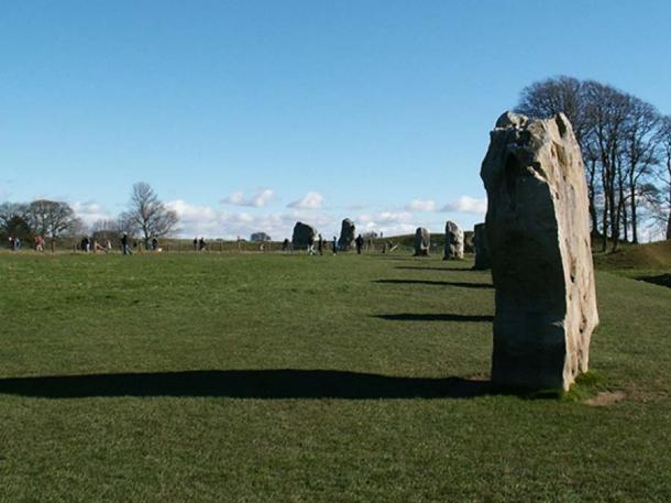 Avebury Stone Circle en Gran Bretaña es un ejemplo de un sitio ritual de roundel. (Dickbauch ~ commonswiki / CC BY-SA 3.0)