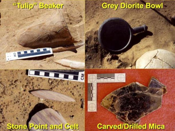 Graves artefactos de las excavaciones neolíticas 2001-2003. (Autor proporcionado / La conversación)