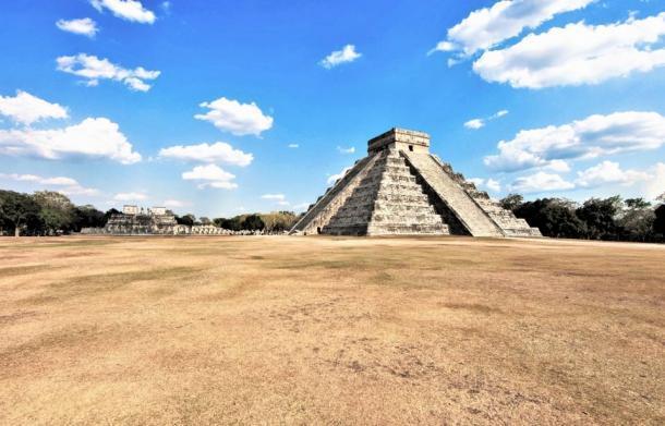 La Gran Plaza de Chichén Itzá. (George Fery)
