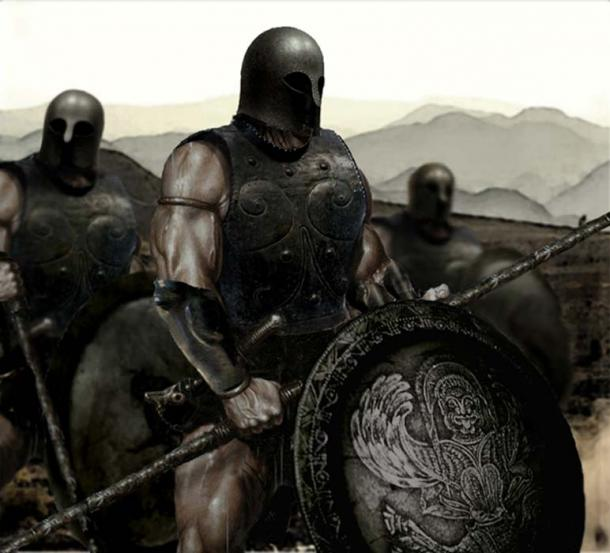 Guerra meseniana, soldado espartano. (Niko978 / CC BY-SA 2.0)
