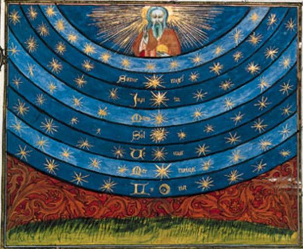 A principios de la era cristiana, la idea de la Ogdóada también aparece en la creencia gnóstica. Se creía que las esferas planetarias eran planos de existencia entre la tierra y las regiones celestiales.