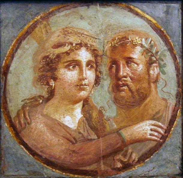 El sexo y el amor fueron temas importantes en el arte clásico, como se puede ver en este antiguo fresco romano en el Museo Arqueológico Nacional de Nápoles en Italia. (Stefano Bolognini)