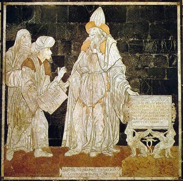 Hermes Trismegistus. (Dominio público)
