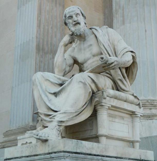 """Heródoto: el padre de la historia discutió el tipo de barco encontrado por los arqueólogos marinos en su trabajo """"Historias"""". (janka00simka0 / Dominio público)"""