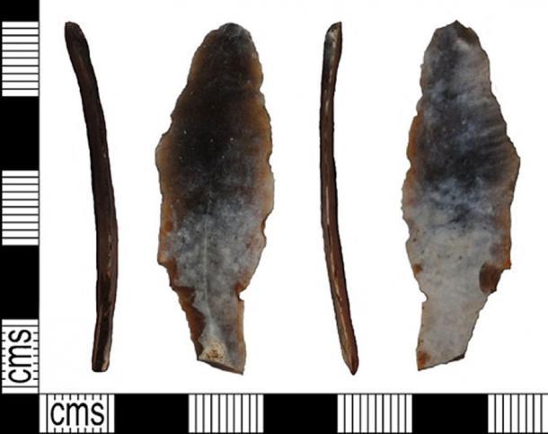 Representación de la herramienta de pedernal descubierta. (Fæ / CC BY-SA 2.0)