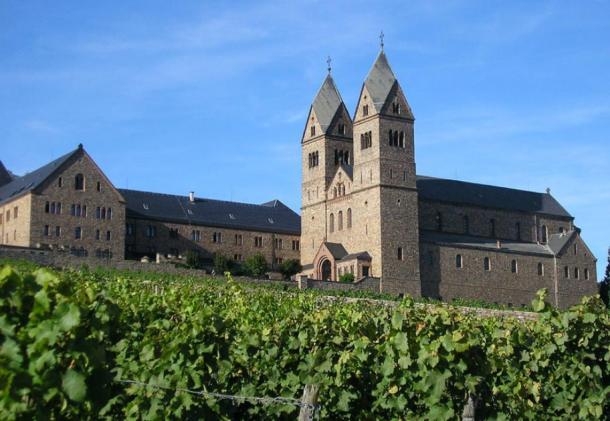 Abadía de Hildegard, cerca de Wiesbaden, Alemania. (Moguntner / CC BY-SA 3.0)