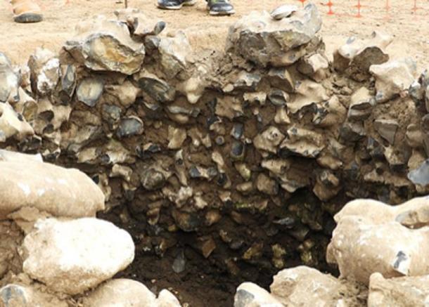 Los historiadores en Kent han prometido reconstruir un templo de 2.000 años de antigüedad en un intento por salvarlo de la destrucción por parte de los desarrolladores después de que los planes iniciales significaran que sería enterrado nuevamente. (Grupo de historia de Newington / Uso justo)