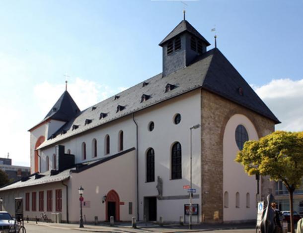 Iglesia de San Juan (en alemán Johanniskirche) en Mainz (CC por SA 3.0)