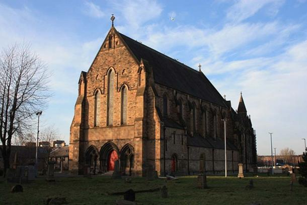 Iglesia parroquial antigua de Govan, Glasgow, Escocia. (CC BY-SA 4.0)