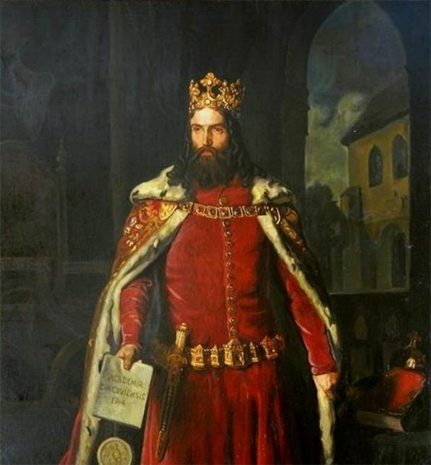 Retrato de Casimiro el Grande por Leopold Loeffler. (Dominio público)