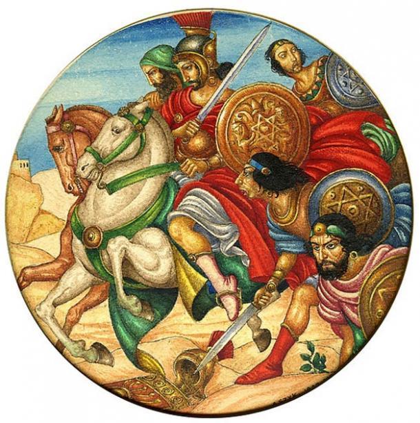 Shi 'mon Bar Kokhba fue un revolucionario de Judea que se rebeló contra los romanos, creando terror en Roma. (Arthur Szyk / CC BY-SA 4.0)