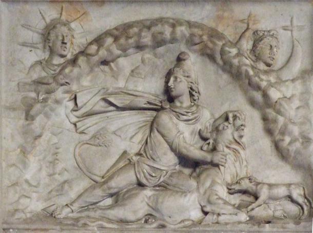 El mito de Mitra matando al toro está representado en toda Roma con varios ejemplos, como este relieve, que ahora se conserva en el Vaticano. (CC BY-SA 3.0)