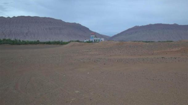 El área cercana a la ciudad de Turfan en el noroeste de China. (UZH)