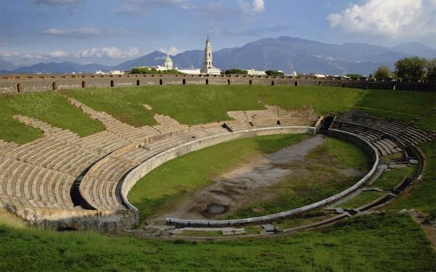 El anfiteatro es el más antiguo y al más puro estilo de Pompeya, se encuentra en un gran estado de conservación (pwmotion / Adobe Stock)