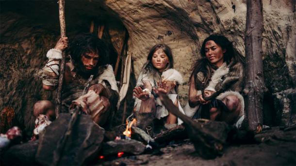 ¿Neandertales prehistóricos u Homo Sapiens? Es difícil decirlo porque éramos tan similares. (Gorodenkoff / Adobe Stock)