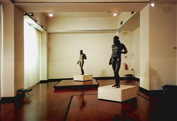 Los Guerreros Riace hoy se exhiben en el Museo Nazionale della Magna Grecia. (CC BY-SA 2.5)