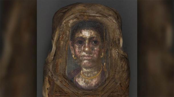 El retrato de la momia de la niña, obviamente, no es una niña, y este es el misterio que aún debe resolverse. (Acciones de Stuart R.)