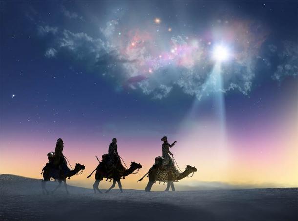 La tradición de marcar la puerta con tiza en el cristianismo se refiere a los magos bíblicos o los tres sabios o los tres reyes: Gaspar, Melchor y Baltazar. (denissimonov / Adobe Stock)