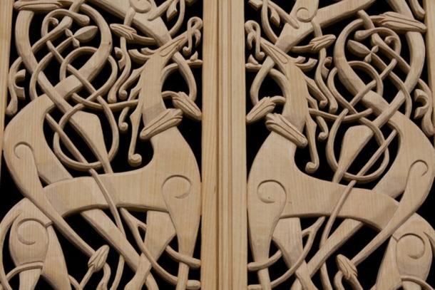 Intrincada carpintería vikinga (Flickr / CC BY-ND 2.0)