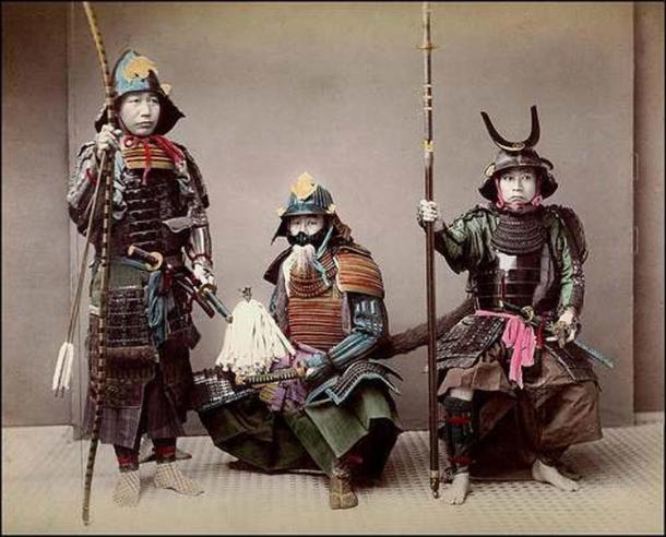 Samurái del período Edo japonés (1603-1868) (CC BY 2.0)