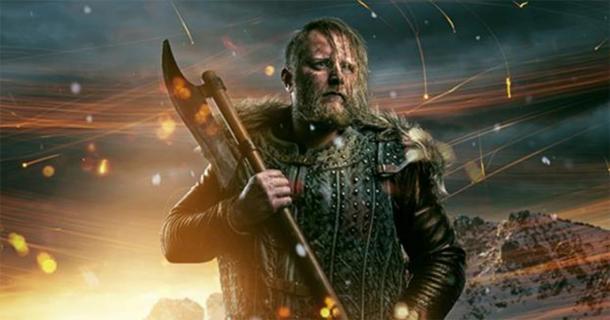 Un guerrero vikingo con un hacha. Eric Bloodaxe hizo una redada en Gran Bretaña antes de establecerse en una realeza allí. (lassedesignen / Adobe Stock)
