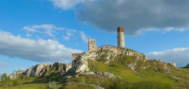El panorama del castillo de Olsztyn en los tiempos modernos. (Ziijon / CC BY 3.0)