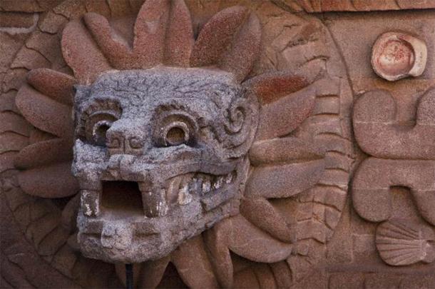 Cabeza de Quetzalcoatl en Teotihuacan. (Josue / Adobe Stock)