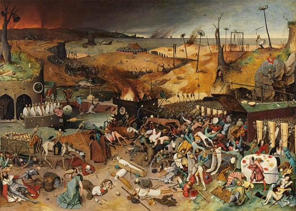 El triunfo de la muerte de Pieter Brueghel el Viejo. (Dominio público)