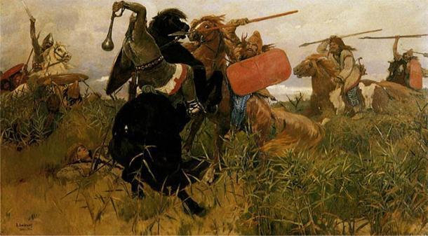 La más occidental de todas las tribus eslavas, los eslavos polacos lucharon por sobrevivir durante toda su existencia. (Dominio público)