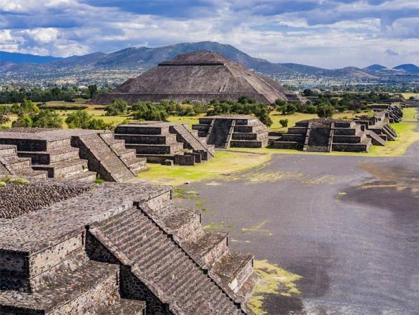 Impresionante vista de Teotihuacan. (SimoneGilioli / Adobe Stock)
