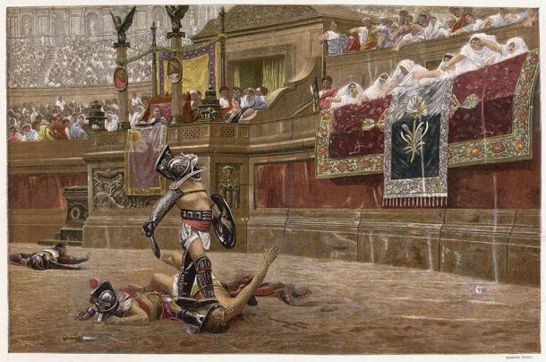 Gladiadores en la arena (Archivero / Adobe Stock)
