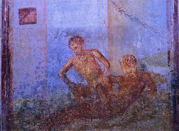 Las prostitutas de cementerio operaban dentro de los cementerios y tumbas subterráneas de la antigua Roma. (Dominio público)