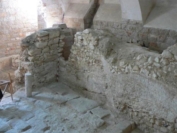 La imagen muestra la casa del siglo I que, según Ken Dark, fue el hogar de la infancia de Jesucristo. (Ken Dark)